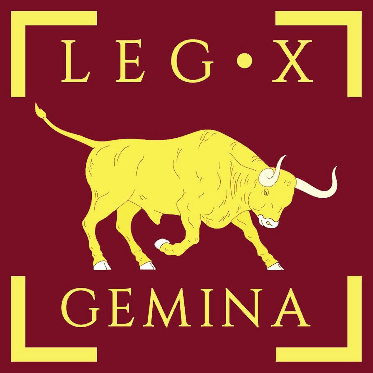 Proporzec legionu X Gemina