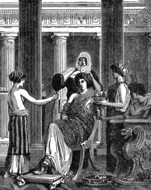 Zabiegi kosmetyczne w starożytnym Rzymie