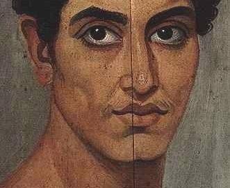 Wyrazisty portret fajumski