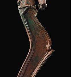 Fulcrum - ancient bed ornament