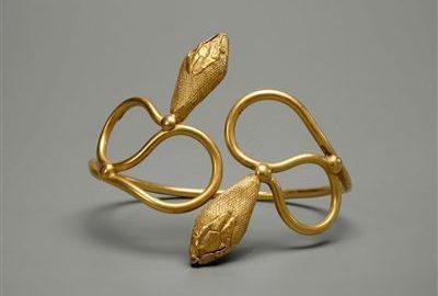 Piękna bransoletka egipska