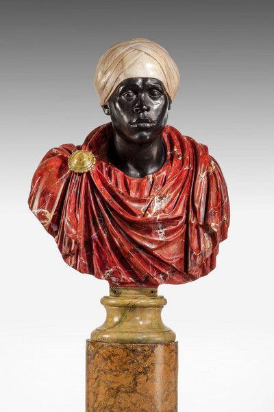 Popiersie wysoko postawionego Rzymianina