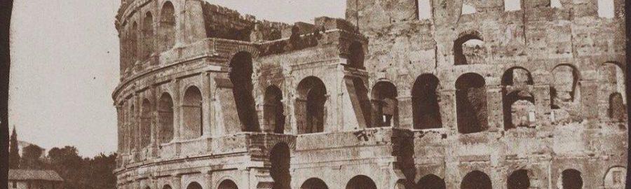 Jedna z najstarszych fotografii Koloseum