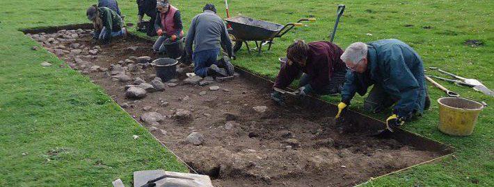 Odkryto rzymską drogę w Corbridge