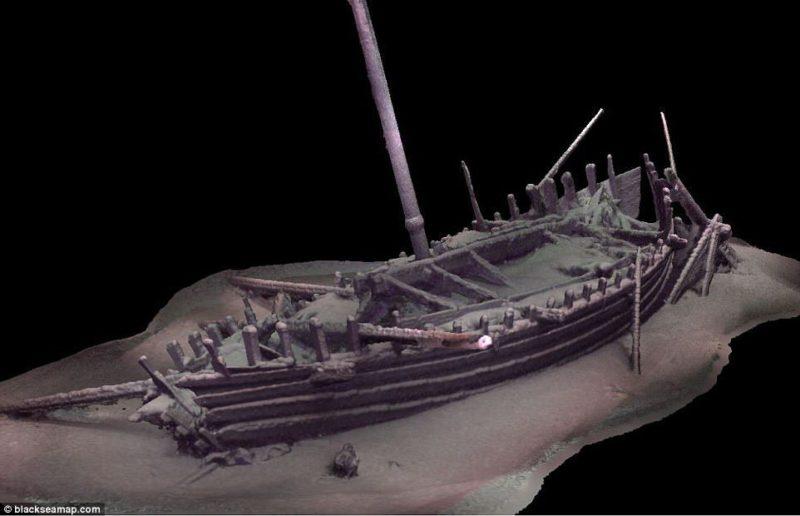 Naukowcy odkryli na dnie Morza Czarnego 60 antycznych i średniowiecznych statków