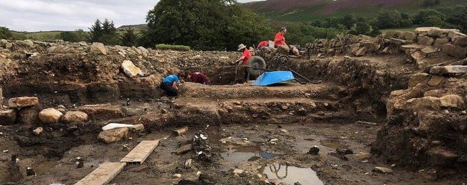 Niesamowite rzymskie znaleziska w Vindolandzie
