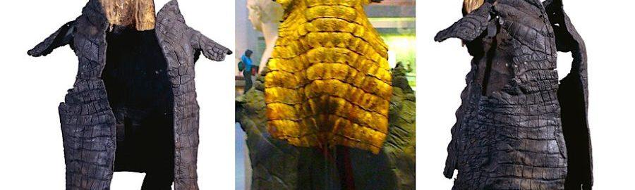 Amazing crocodile armor