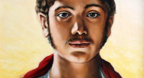 Very interesting image of emperor Elagabalus
