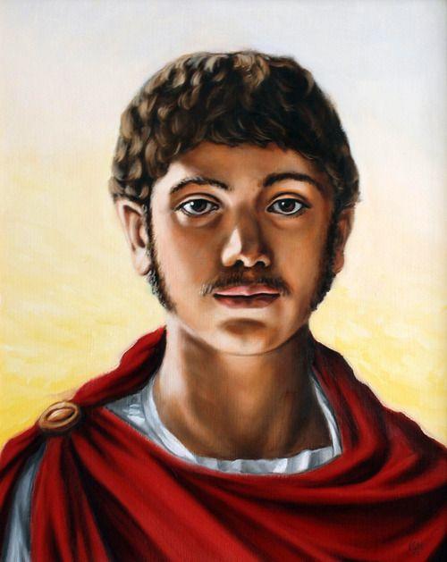 Bardzo ciekawy wizerunek cesarza Heliogabala