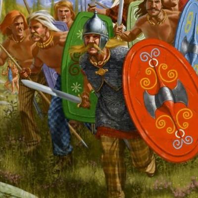 Linia celtyckich wojowników