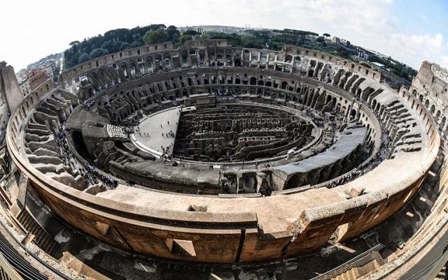 Górne poziomy Koloseum otwarte dla turystów