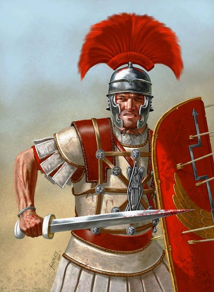 Roman centurion from the 1st century CE