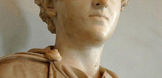 Marek Aureliusz jako młodzieniec