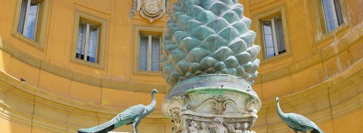 A great pine cone in Rome