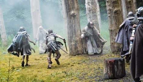 Romans and druids