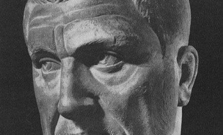 Marble bust of Emperor Maximinus Thrax