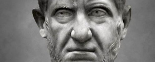 Bust of Emperor Tacitus