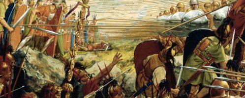 Tak mogła wyglądać bitwa pod Termopilami w 191 p.n.e.