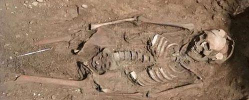 Odkryty szkielet 25-letniej Wizygotki