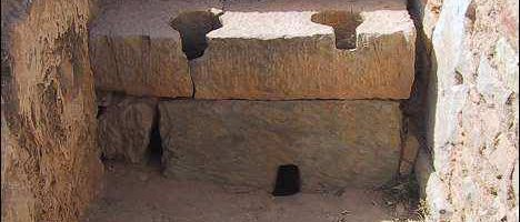 Unique Roman latrine in Bulla Regia