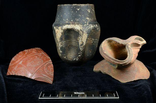 Odkryta rzymska ceramika w Anglii