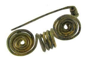 Licząca 2000 lat rzymska fibula