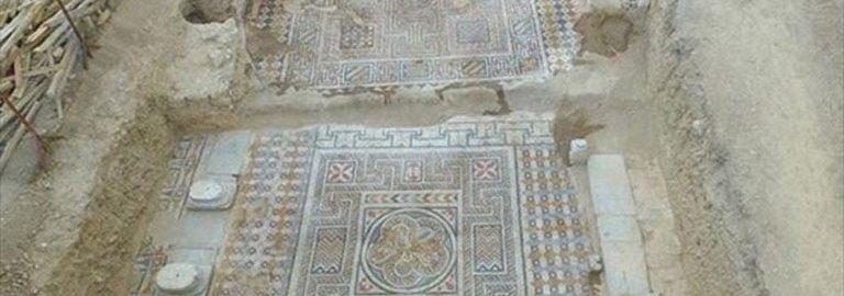 W antycznym mieście Laodikeia odkryto rzymską mozaikę