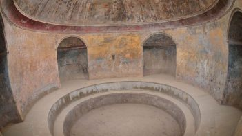 Frigidarium and Pompeii thermal baths