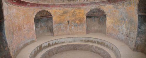 Frigidarium and Pompeii thermal baths