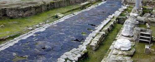 Remains of Roman road at Tarsus