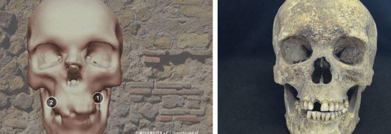 Udało się odtworzyć czaszki ofiar Wezuwiusza z 79 roku n.e. w 3D
