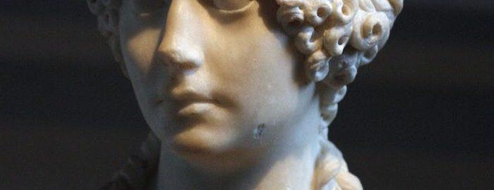 Urocze popiersie rzymskiej dziewczynki Minatia Polla