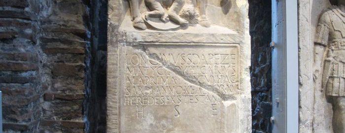 Longinus Tombstone