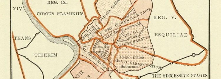 Mapa antycznego Rzymu