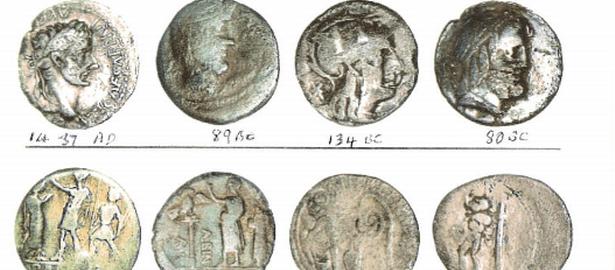 Odkryto liczące 2000 lat monety rzymskie z okresu republiki