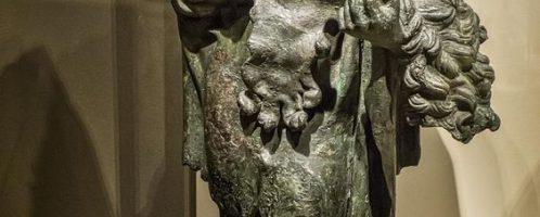 Bronze statue of Hercules