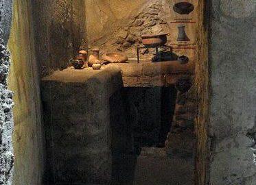 Roman little kitchen in Pompeii
