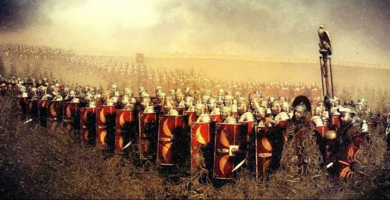 Żołnierz rzymski – rasowy pies Platona czy element wulgarnej masy?