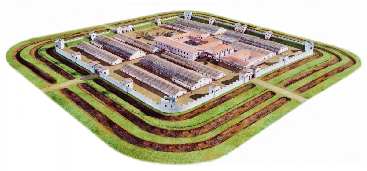 Rzymski castrum Biriciana