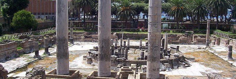 Kolumny na Macellum w Pozzuoli