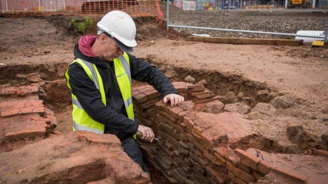 Odkryto rzymską willę w Warwick