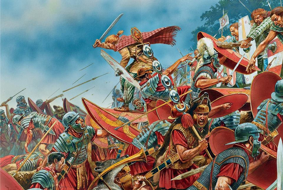 Bitwa o Wał Angrywarski