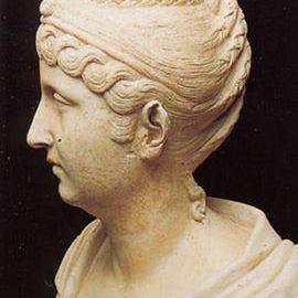 Bust of Empress Faustina the Elder