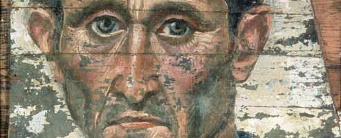Fayum portrait of man