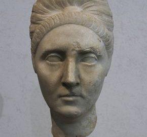 Roman bust of Plotina