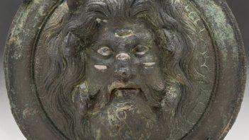 Medallion showing bearded Oceanus
