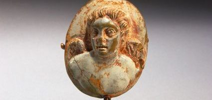 Roman cameo depicting Amor