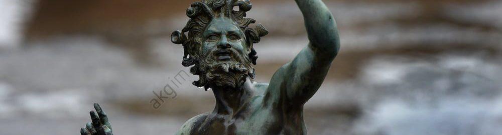 Rzymska statua Fauna w impluvium