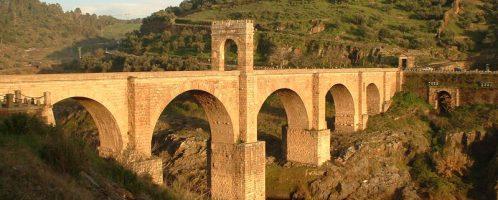 Roman bridge in Alcántara