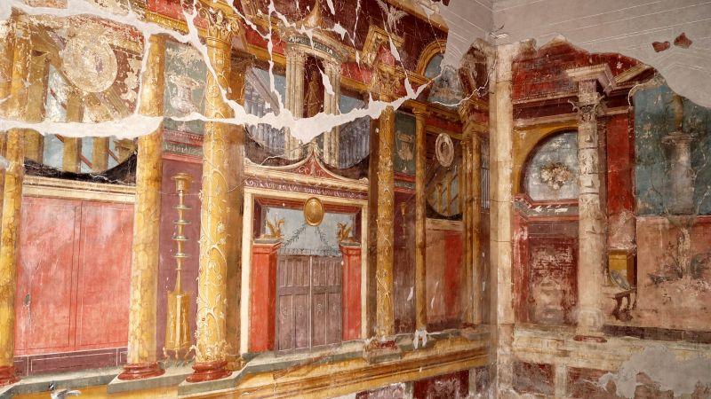 Fresco in the Poppei villa